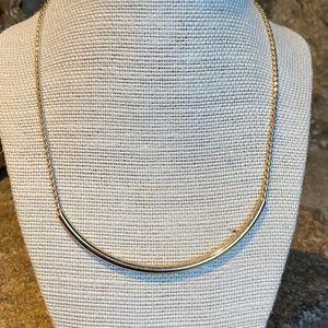 Banana Republic Simple Silver Necklace